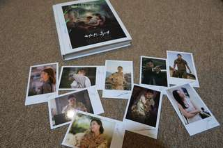 DESCENDANTS OF THE SUN photobook + photocards