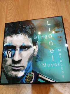 Messi Canvas