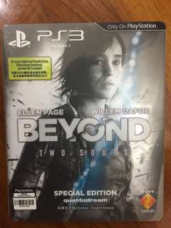 PS3 Game beyond two souls special edition
