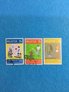 1976 75th Anniversary of IMR Set of 3V Used