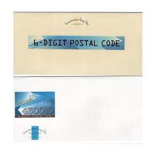 1995 6-Digit postal Code Commemorative Stamp Issue
