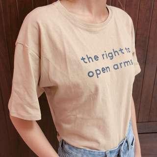 🚚 字母短袖T恤