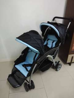 ALFOR TWINS BABY STROLLER