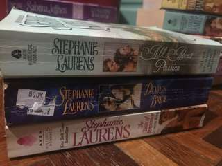 English Novels - Stephanie Laurens (3 novels bundle)