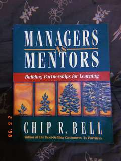 Managers as Mentors (Business Book)