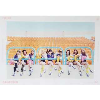 (WTB)TWICE - Page two pink version poster