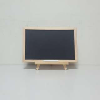 [For Rent] Small Chalkboard with Easel & Chalk SS038