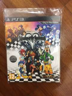 PS3 Games Disney kingdom of hearts HD 1.5 remix limited edition