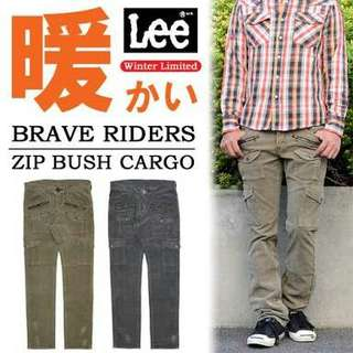 Lee Brave Riders Zip Bush Cargo size 30