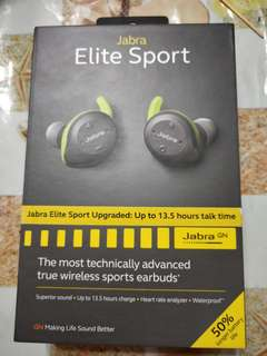 JABRA Elite Sport Bluetooth Earbuds
