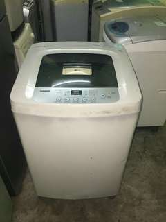 Used LG washer 8.5kg washing machine mesin basuh fully auto stainless steel drum in good condition