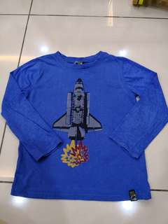 Charlie Rocket Shirt (6-7t)