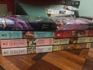 English Novels - Eloisa James (8 novels bundle)