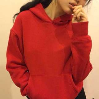 Thick Red hoodie ❤️