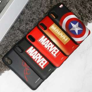 🇰🇷7月韓國代購🇰🇷 復仇者聯盟 Marvel 多型號phone case 可放卡 電話殻