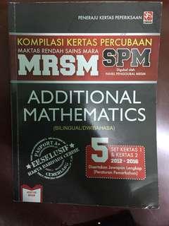 MRSM TRIALS ADDMATHS