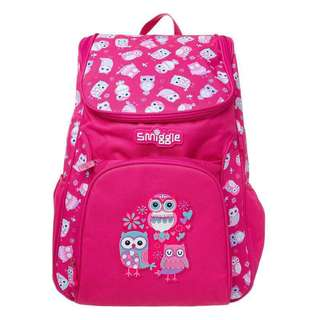 Smiggle Backpack chirpy owl
