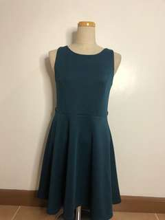 Forever 21 Blue Green Dress