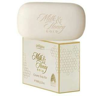 Oriflame milk honey soap bar