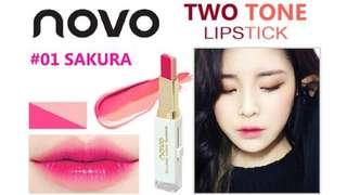 Novo 2 tone lipstick