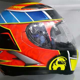 Kyt full face helmet
