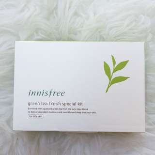 INNISFREE Green Tea Fresh Special Kit (for oily skin)
