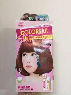 美吾髮卡樂芙染髮霜染髮劑 寶石粉紅