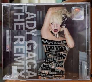Lady Gaga The Remix Malaysia Exclusive Cover Rare CD Japan Sealed