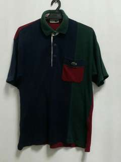 Lacoste Patchwork Polo Tee