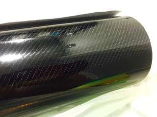 5D Carbon fibre vinyl wrap