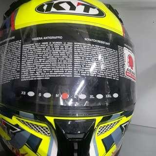 Kyt fullface helmet
