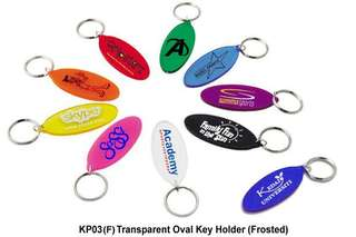 Wholesale Transparent Oval Key Holder