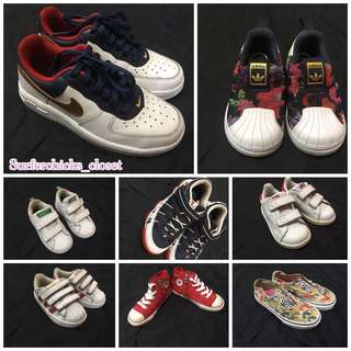 Authentic branded shoes for kids