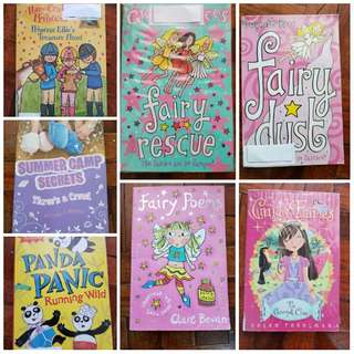 Children's Chapter Books 7pc Bundle - Candy Fairies, Gwyneth Rees Fairy Dust Rescue
