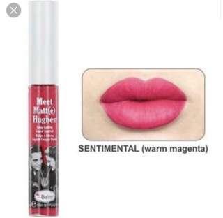 theBalm lipstick