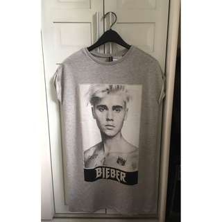 H&M Justin Bieber Purpose Tour Merch Dress