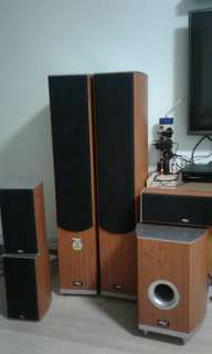 Dtx 5.1 home theater speakers