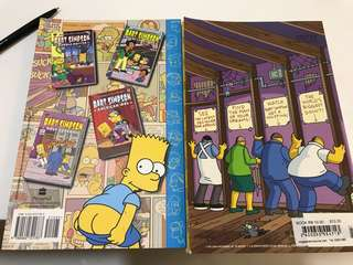 bart simpson 2 comic books