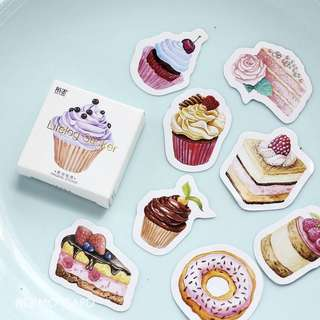 [IN] [ST] Boxed Stickers: Desserts