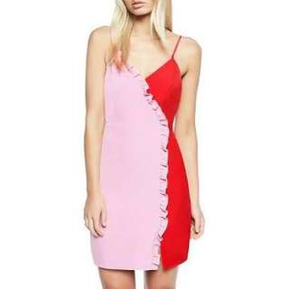 Bardot Pink and Red Dress