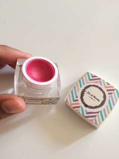 Cream blush jar of beauty