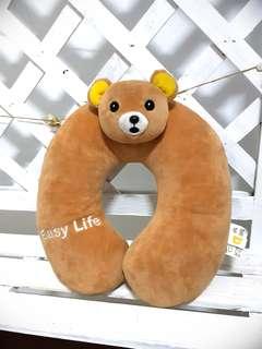 🚚 小熊旅行U型枕頭護頸枕午睡枕/旅行枕/靠枕
