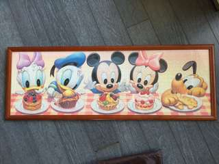 Mickey & Minnie Puzzle 砌圖