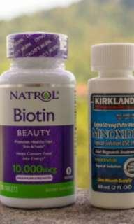 Starter Pack- minox&Biotin