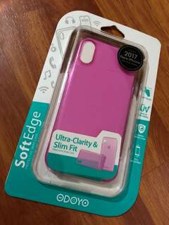 ODOYO case for iPhone X (Pink)