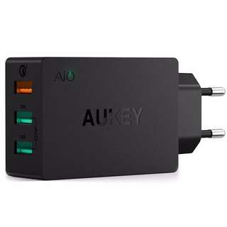 Aukey 3 Port Wall Quick Charger 3.0