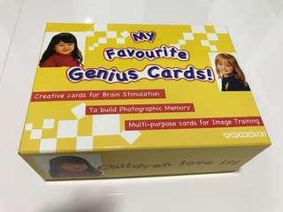 My fav genius flashcards by Tensai
