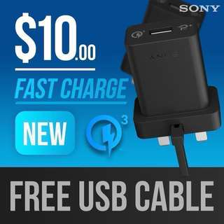 Fast/Quick Charge Wall Charger