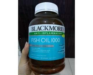 Sale Blackmores Fish Oil 1000mg original