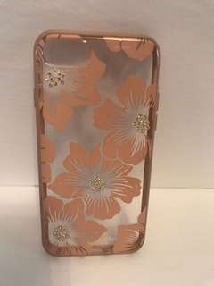KATE SPADE Pink Floral iPhone Case (7/8)